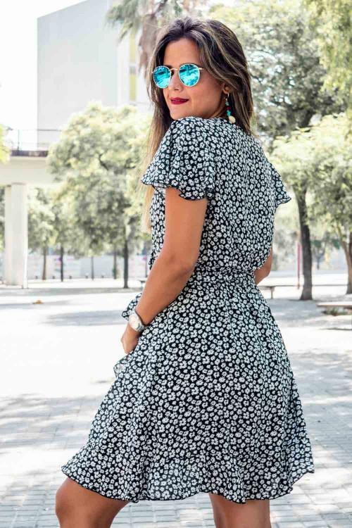Comprar Vestido corto de flores Online