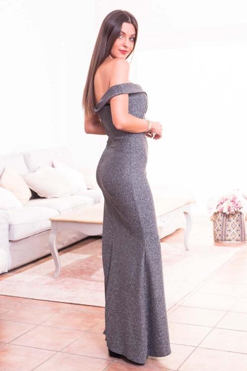 Comprar Vestido Sirena Lurex Online