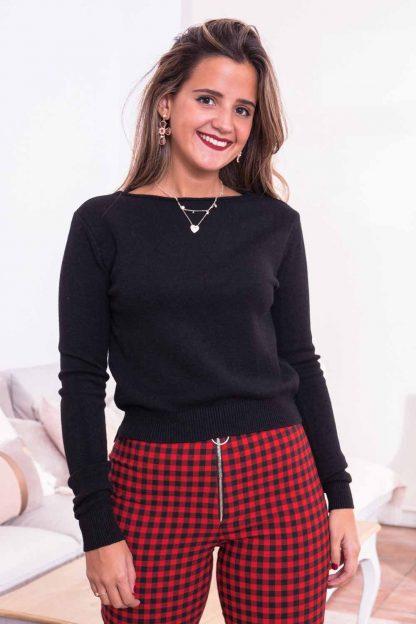 Comprar Jersey Negro Básico Online