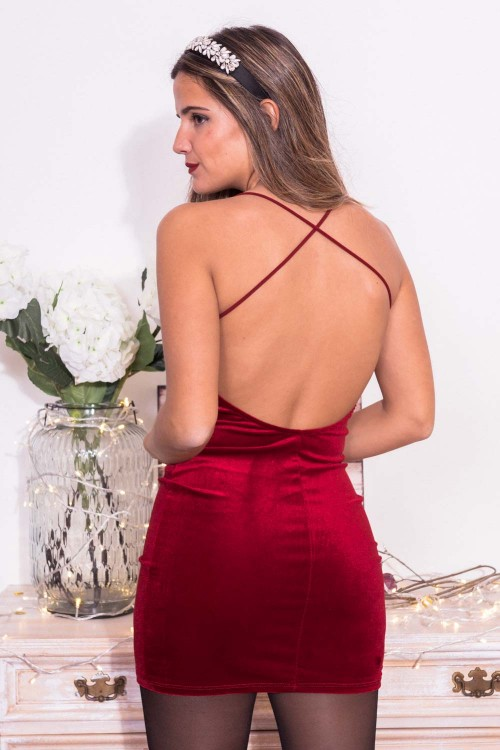 Comprar Vestido Mini Velvet Online
