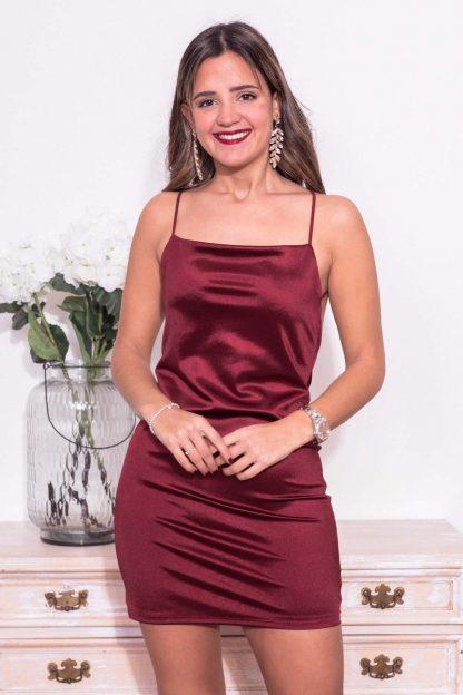 Comprar Vestido Mini Raso Online