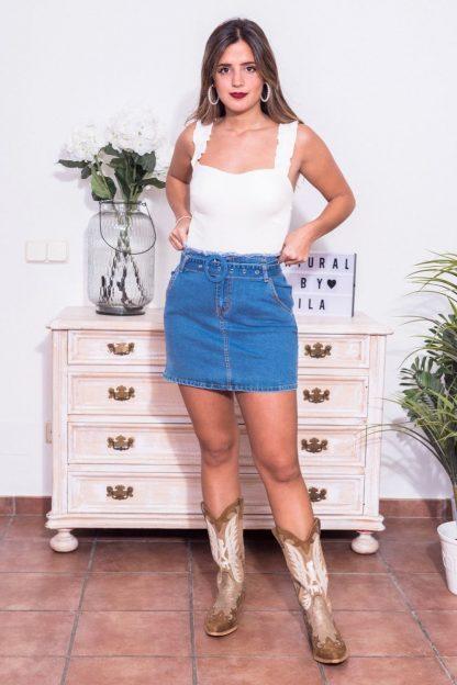Comprar Body Tirante Arrugado Online