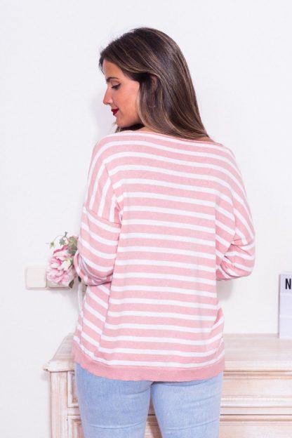 Comprar Jersey Rayas Pastel Online