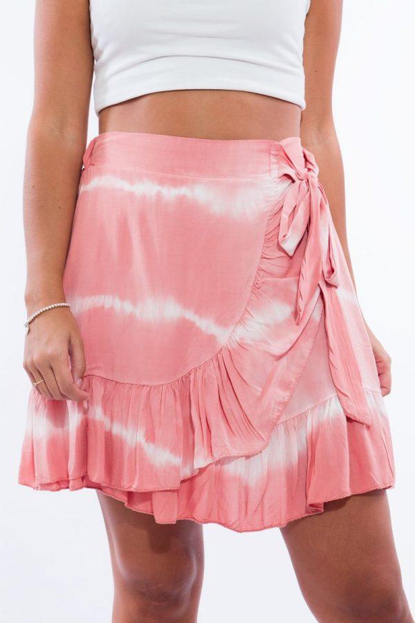 Comprar Falda Volantes Tie Dye Online