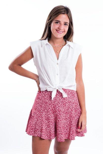 Comprar Camisa Hombreras Anudada Online