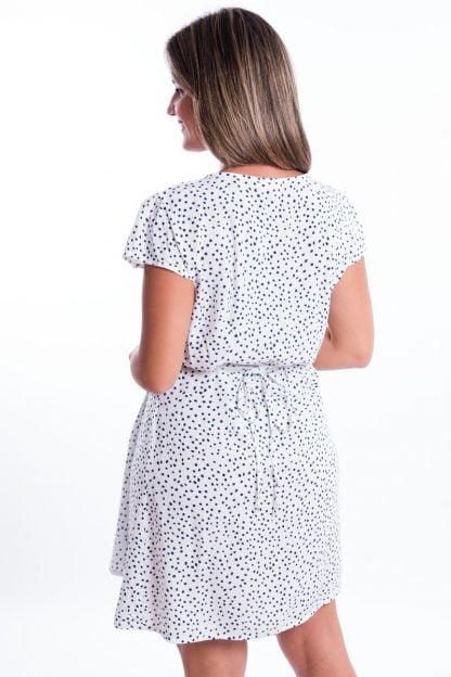 Comprar Vestido Atado Topos Online