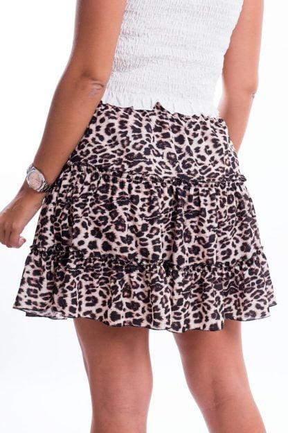 Comprar Falda Corta Leopardo Online