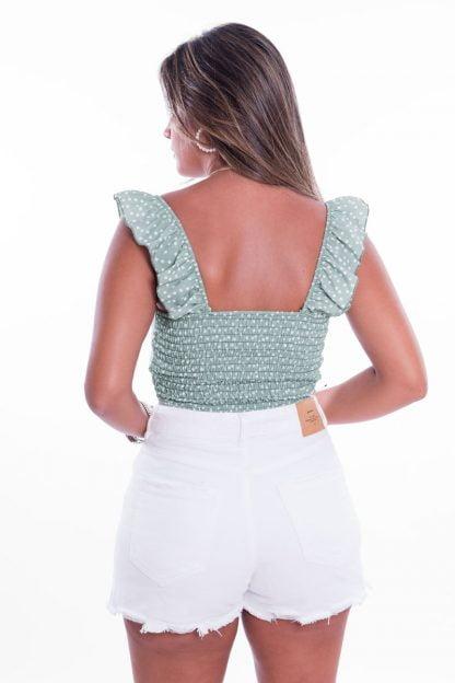 Comprar Vestido Nido de Abeja Flores Online
