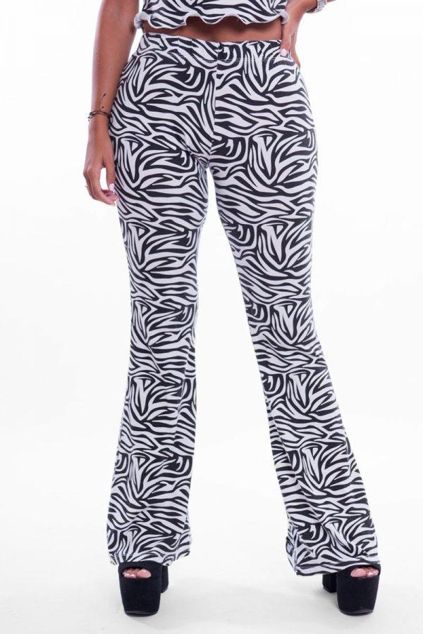 Comprar Pantalón Estampado Cebra Online