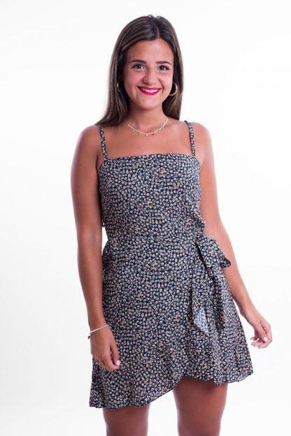 Comprar Vestido Flores Volante Online