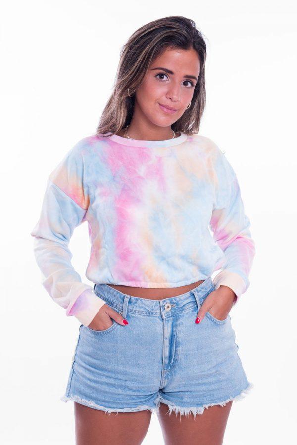 Comprar Sudadera Tie Dye Pastel Online