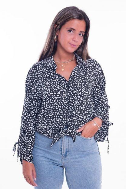 Comprar Vestido Cruzado Leopardo Online