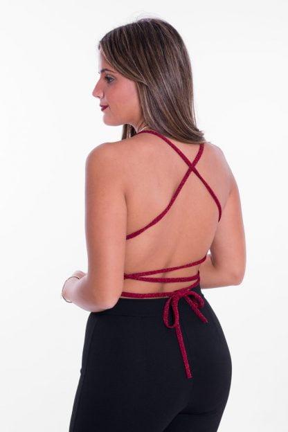 Comprar Top Cruzado Lurex Online