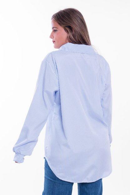 Comprar Camisa Rayas Oversize Online