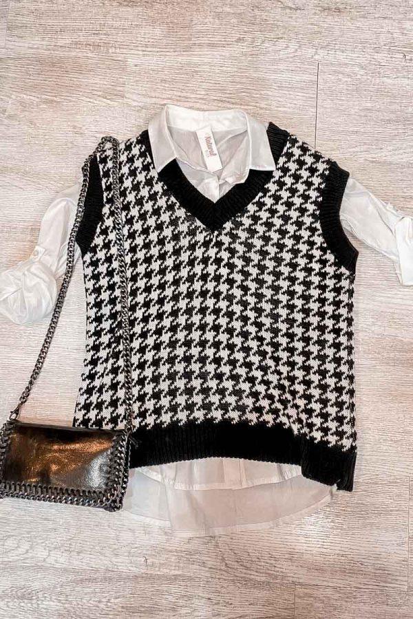 Comprar Look Pata de Gallo Camisa Online