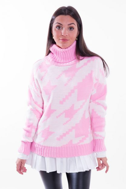 Comprar Jersey Pata de Gallo Pastel Online
