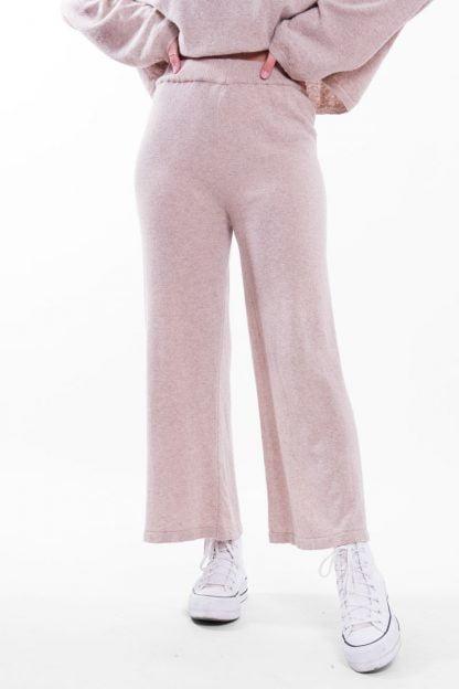 Comprar Pantalón Recto Cropped Canalé Online