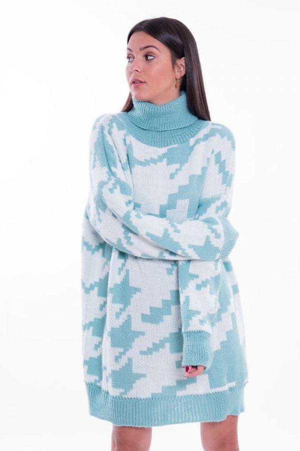 Comprar Vestido Pata de Gallo Oversize Online