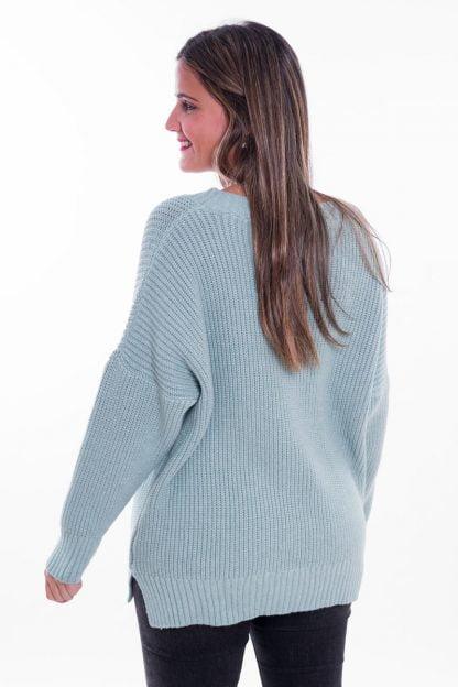 Comprar Jersey Punto Cuello Pico Online