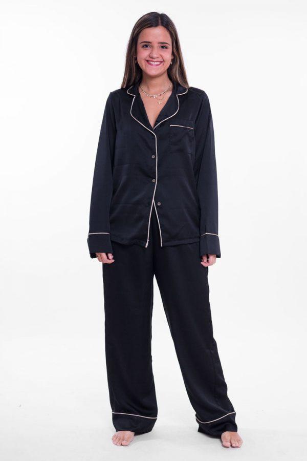 Comprar Pijama Largo Satín Online