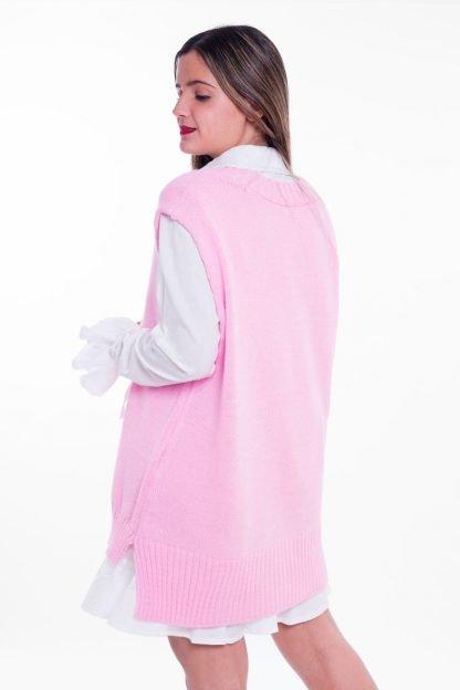 Comprar Chaleco Oversize Pastel Online