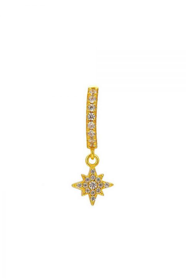 Comprar Pendiente Estrella Circonita (Unidad) Online
