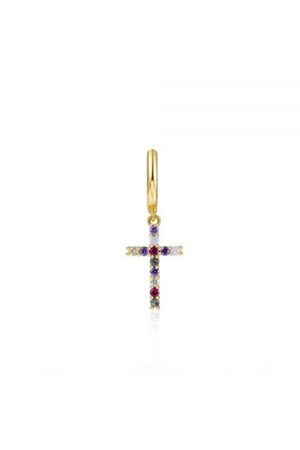 Comprar Pendiente Cruz Circonita (Unidad) Online