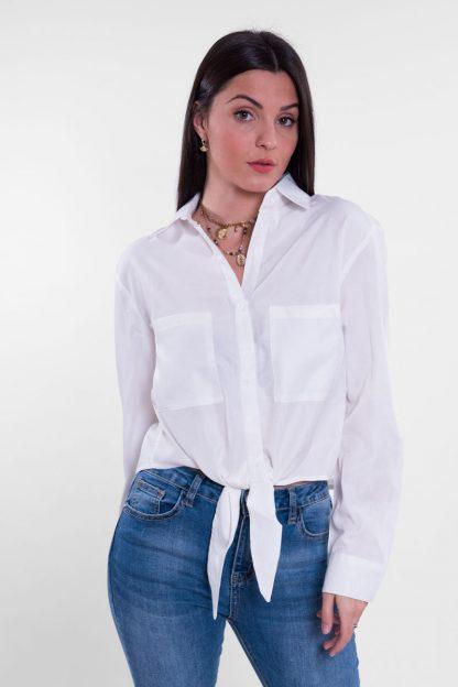 Comprar Camisa Raso Anudada Online