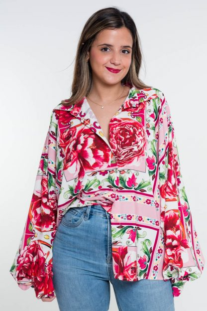 Comprar Camisa Estampada Boho Online