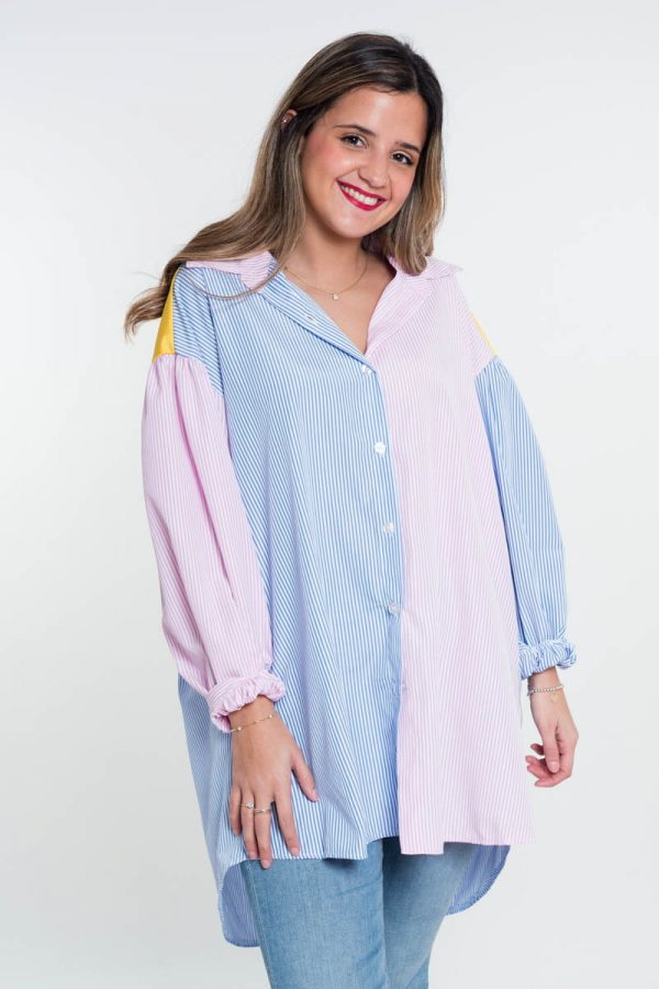 Comprar Camisa Colorblock Online