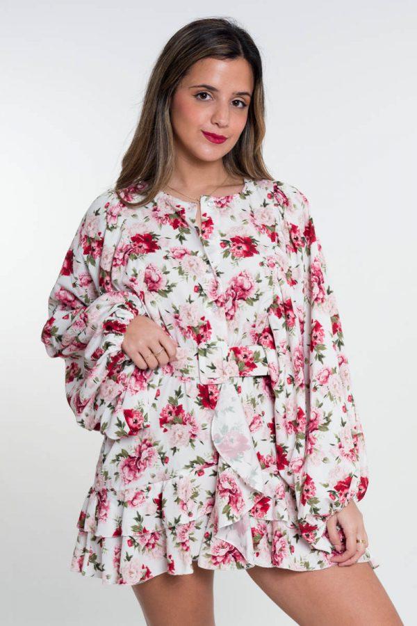 Comprar Vestido Dafne Flores Online