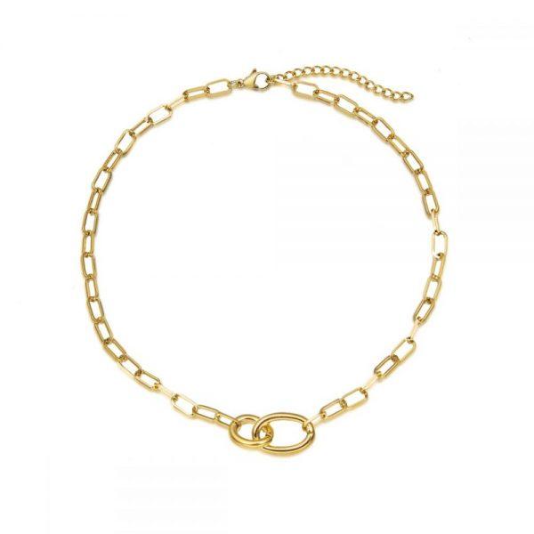 Comprar Collar Ovalado Acero Online