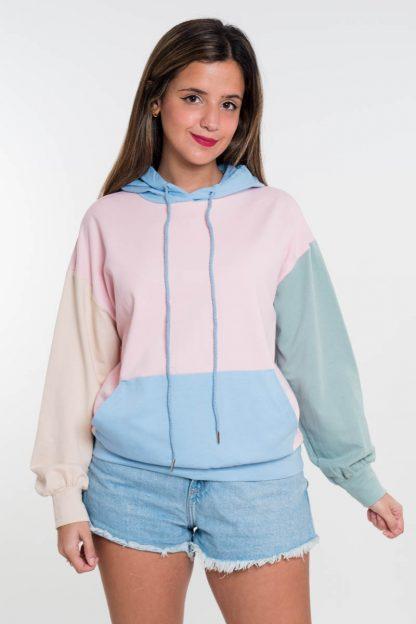 Comprar Sudadera Colorblock Online