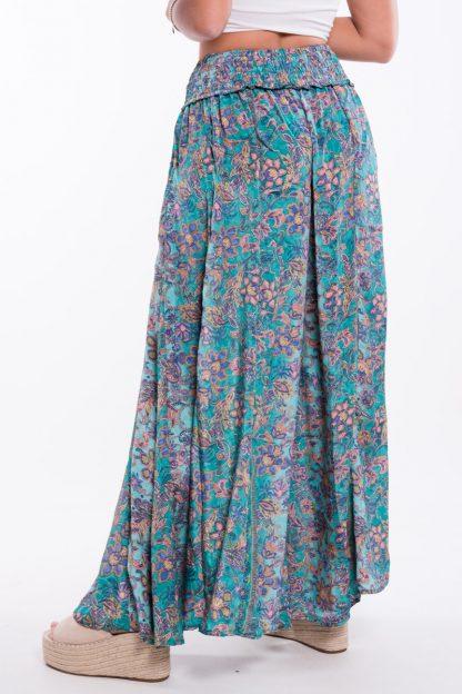 Comprar Pantalón Boho Turquesa Online