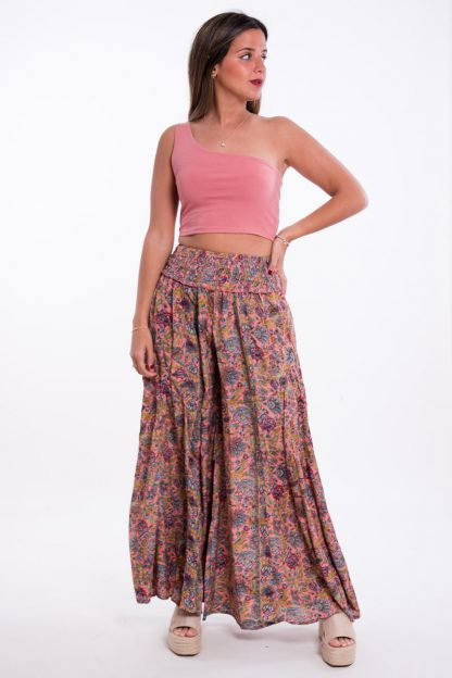 Comprar Pantalón Boho Teja Online