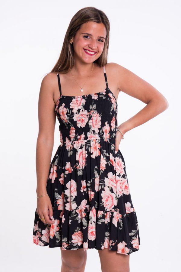 Comprar Vestido Estampado Rosas Online