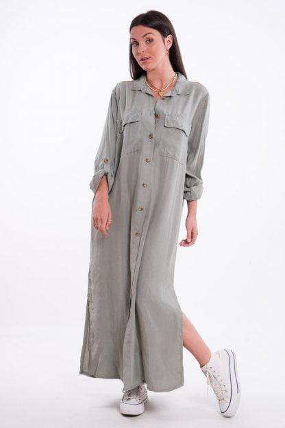 Comprar Vestido Largo Safari Online
