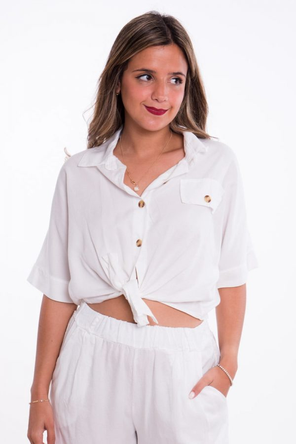 Comprar Camisa Safari Anudada Online