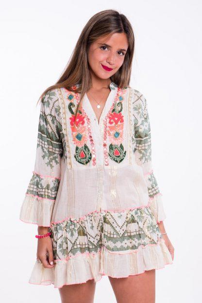 Comprar Vestido Corto Étnico Online