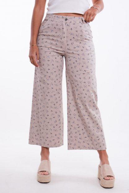 Comprar Pantalón Recto Flores Online