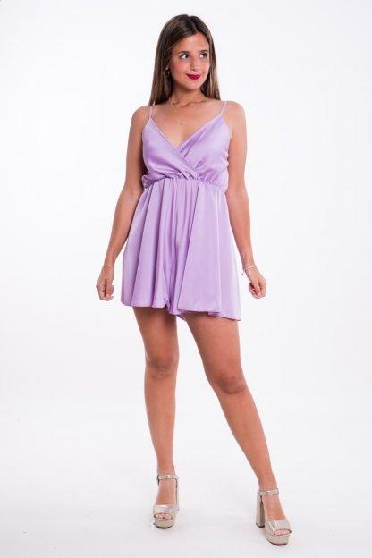 Comprar Mono Raso Violeta Online