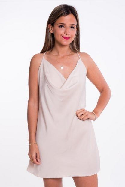 Comprar Vestido Escote Cascada Online