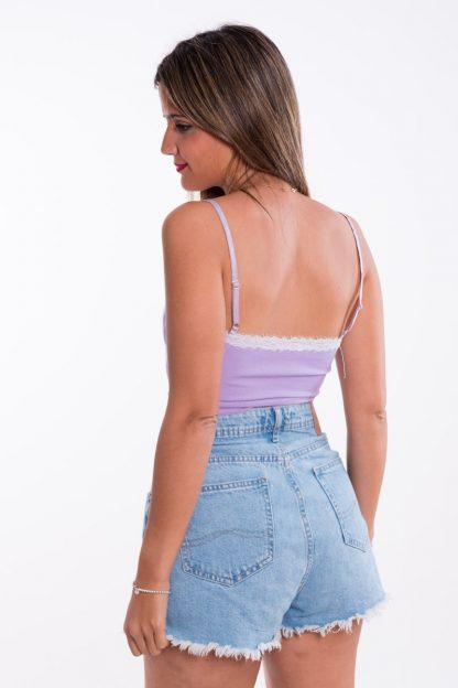 Comprar Top Lencero Bicolor Online