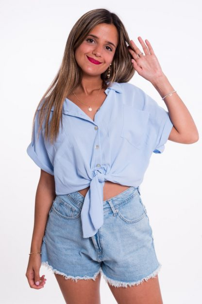 Comprar Blusa Anudada Online