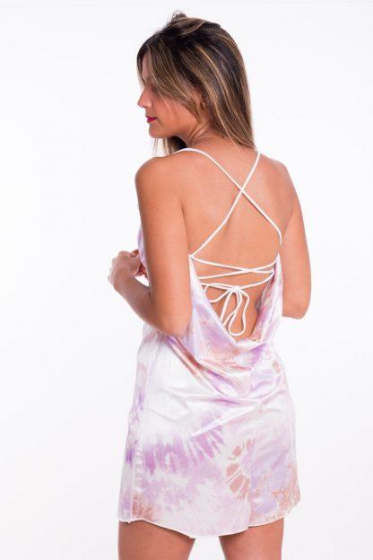 Comprar Vestido Cascada Tie Dye Online