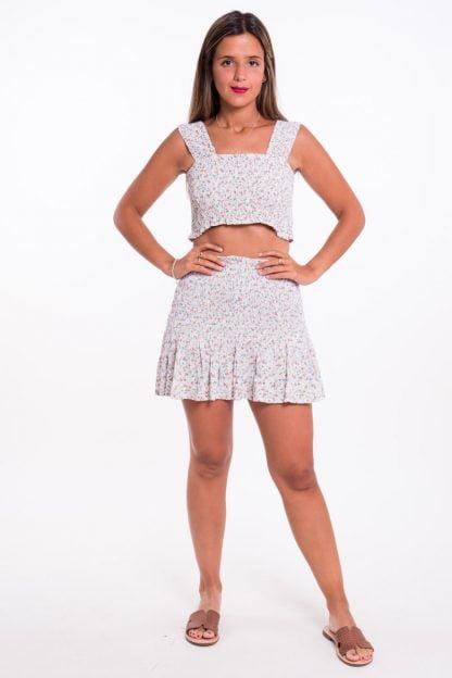 Comprar Falda Florecitas Online