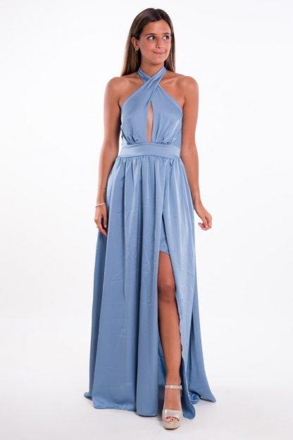 Comprar Vestido Largo Raso Online