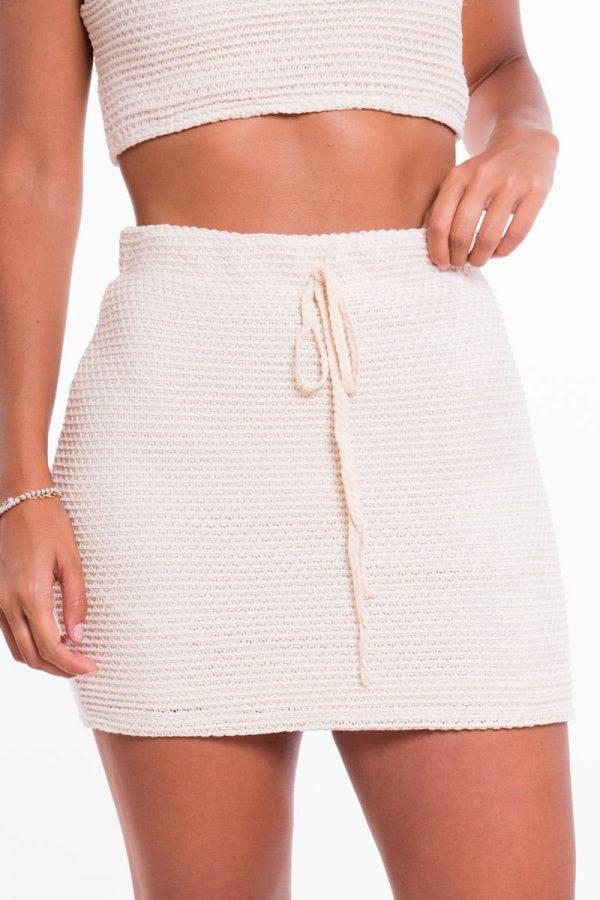 Comprar Falda Mini Crochet Online