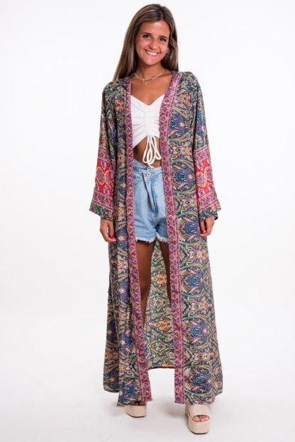 Comprar Kimono Largo Estampado Online