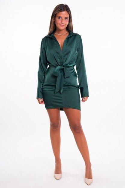 Comprar Vestido Corto Raso Online